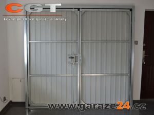 Zámek na výklopná garážová vrata